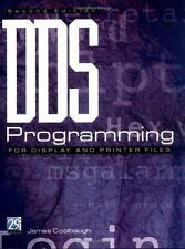DDS Programming for Display and Printer Files by James Coolbaugh (1999, Paperbac