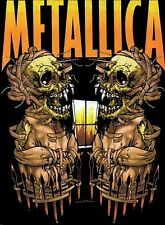 Metallica Iron On Transfer For T-Shirt & Other Light Color Fabrics #4