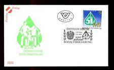 Austria 1989 National Insurance Centenary FDC #C3004