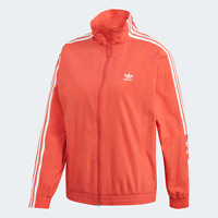 adidas Originals Women's Track Top A throwback track jacket red