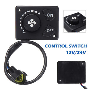 12/24V Parking Heater Controller LCD Switch Knob For Truck Air Diesel Heater﹑UK