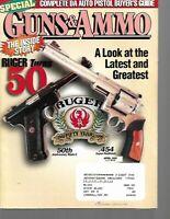 Guns & Ammo Handguns Magazine April 1999 Complete DA Auto Pistol Buyer's Guide