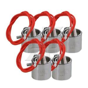 5pcs AC220V 120W Heating Element Band Heater Injection Mould30x35x350mm