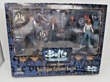 1999 Buffy Vampire Action Figures Four Figure Exclusive Box Set New, Damaged Box