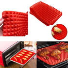 BBQ Silicone Mat Pad Reusable Barbecue Grilling Cooking Baking Picnic
