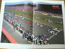 A366- START SIDECARS DUTCH TT ASSEN 1987 ? MOTO GP POSTER ZIJSPANNEN KRAUSER,BAR