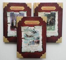Lote de libros • 3 Obras Colección AVENTURAS de EMILIO SALGARI + 2 libros regalo