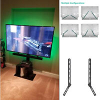 Sound Bar Bracket Universal SoundBar Speaker Mount Above or Under TV Wallmount