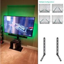 Sound Bar Bracket Universal SoundBar Speaker Mount Above or Under TV Wallmount