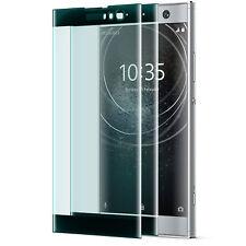 2x 3D Displayschutz Glas Panzerglas für Sony Xperia XA2 - Full Cover Glas Folie