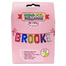 Royal County Products Name Foil Balloons - Brooke - New