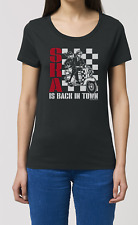 Ladies ORGANIC T-Shirt SKA IS BACK IN TOWN Jazz Blues Guitar Bass Dance Music
