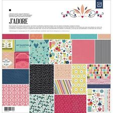 BasicGrey J'ADORE 12 x 12 Paper Collection Pack CJAD4788 Basic Grey
