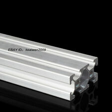 4pcs 2040 T-Slot Aluminum Profiles Extrusion Frame 300mm Length 3D Printer EN