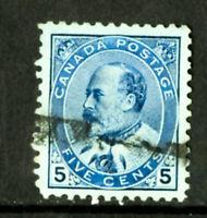 Canada Stamps # 91 JUMBO USED