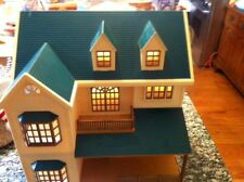 Sylvanian Families Deluxe Green Hill Doll House Calico Critters Epoch