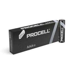 10 Duracell Procell AAA Alkaline Battery 1.5V MN2400 LR03 MICRO MINI STILO