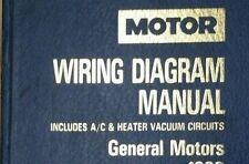 MOTOR Wiring Diagram Manual for General Motors; PRO.TRADE ED.; 1991  LARGE BOOK