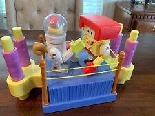 Spongebob Squarepants & Sandy Rock 'em Sock 'em Robots Boxing Game 2004 Mattel