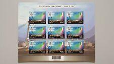 Foglietto francobolli da 0,60 JUVENTUS  CAMPIONI D'ITALIA 2011 2012