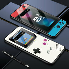 Cover Samsung A51 A71 A20S S8 Plus S20+ Nokia Gamepad Switch Tempered Glass Case