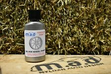 M.A.D SILVER ALLOY WHEEL PAINT TOUCH UP KIT 30ML CURB SCRATCH CURBING ALLOY
