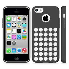 Black Case Cover For iPhone 5C + Screen Protector