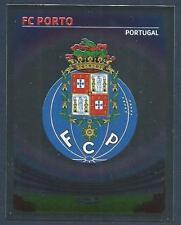 PANINI UEFA CHAMPIONS LEAGUE 2007-08- #281-PORTO TEAM BADGE-SILVER FOIL