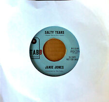 TEEN SOUND - JANIE JONES - BABY, OH WHERE CAN YOU BE - TABB 45
