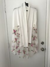 CHA CHA VENTE - Cascade Front Duster Open Jacket Cardigan - Size XL NWT