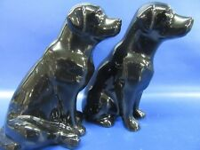 Black Labrador Salt & Pepper - Black Lab Salt & Pepper Pots - Gift Boxed