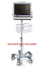 Rolling Roll stand for BLT Biolight A8/A6/A5/A3/A2 patient monitor (big wheel)