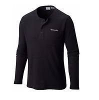 Columbia Men's WIKIUP WAFFLE™ Omni-Wick™ Long Sleeve Henley XM1179-010