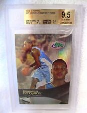 Carmelo Anthony RC 2003-04 E TOPPS Refractor like RC#45 Graded GEM BGS 9.5!