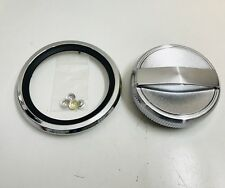 FORD FALCON XY XW GT GS HO PETROL FUEL CAP & CHROME RING WITH SPEED NUTS V8 NEW