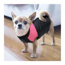 Vêtements et chaussures roses en nylon pour chien