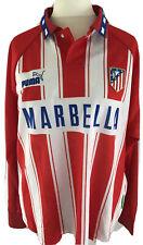Atlético Madrid Marbella XL Fussballtrikot Neu Trikot Fußball Rot Weiß Puma Lang