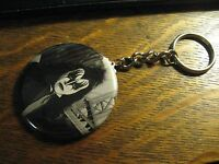 Gene Simmons Keychain - Repurposed Kiss Band Ad Backpack Purse Clip Ornament