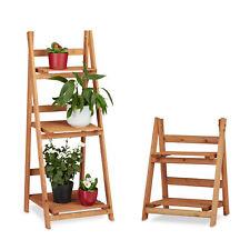 2 tlg. Blumentreppen Set Pflanzentreppe Blumenregal Pflanzenregal Blumenständer