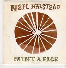 (FI863) Neil Halstead, Paint A Face - 2008 DJ CD