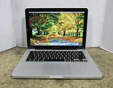 """2011 Apple MacBook Pro A1278 13.3"""" 2.4GHz i5-2435M 4 GB RAM 500GB HDD OS 10.12.6"""
