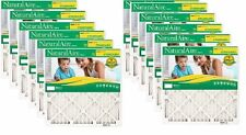 """12 Flanders Naturalaire 20"""" x 30"""" x 1"""" Merv 8 Pleated Furnace Air Filters"""