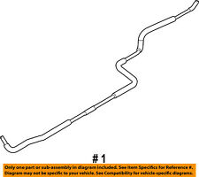 FORD OEM 08-14 E-350 Super Duty 5.4L-V8 Rear Ac Lines-Water Pipe AC2Z18696A
