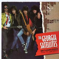 """Georgia satélites-Acorazado CADENAS. 7"""" solo 1987"""