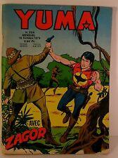 """mensuel bd petit format """" yuma """" n°204 ed  LUG 1979"""