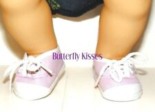 Lavender Sneakers 15 in Baby Doll Clothes Fits American Girl