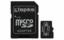 Nuevo Kingston Tarjeta de memoria MicroSD Select Plus de lona SDCS 2/32 GB clase 10