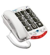 Clarity 76560.001 Amplified Telephone With Talk Back Numbers [black Buttons]