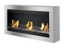 Magnum with Glass - Ignis Wall Mounted Ventless Bio Ethanol Fireplace