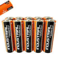 10 x Duracell AA batteries Industrial Procell Alkaline LR6 MN1500 MIGNON EXP2022